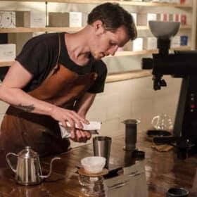 Kaffeudstyr til den der elsker kaffe