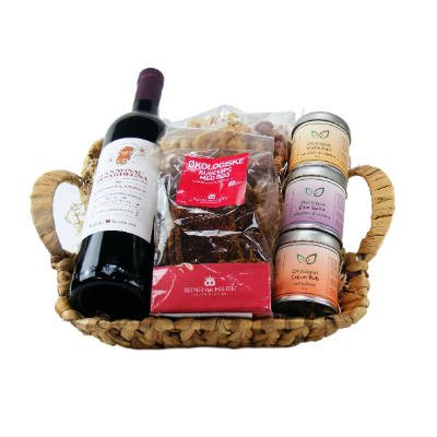 Giv en gavekurv med økologiske krydderier