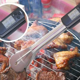 Grilltang med indbygget termometer