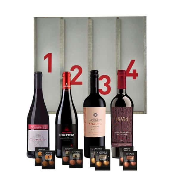 Adventskalender med Rødvin