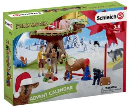 Schleich Bondegård Julekalender